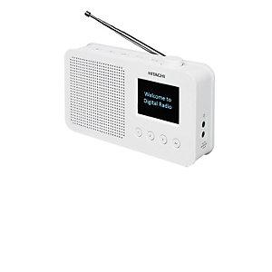 Hitachi DAB/DAB+/FM-Radio KHD150E (vit)