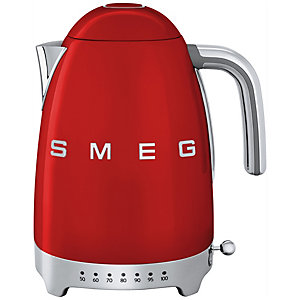 Smeg Retro 50's Style vattenkokare KLF04RDEU (röd)