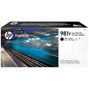 HP 981Y - Ekstra høy ytelse - svart - original - PageWide - blekkpatron