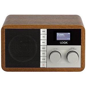 Logik radio FM/DAB+/Internett L5DAB13E