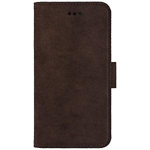 La Vie Avanti iPhone X plånboksfodral (valnötsbrun)