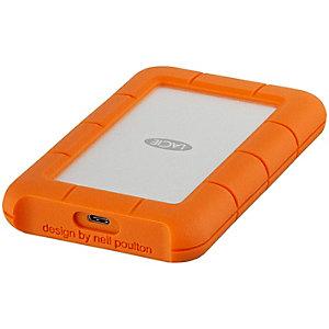 LaCie Rugged USB-C portabel harddisk 1 TB
