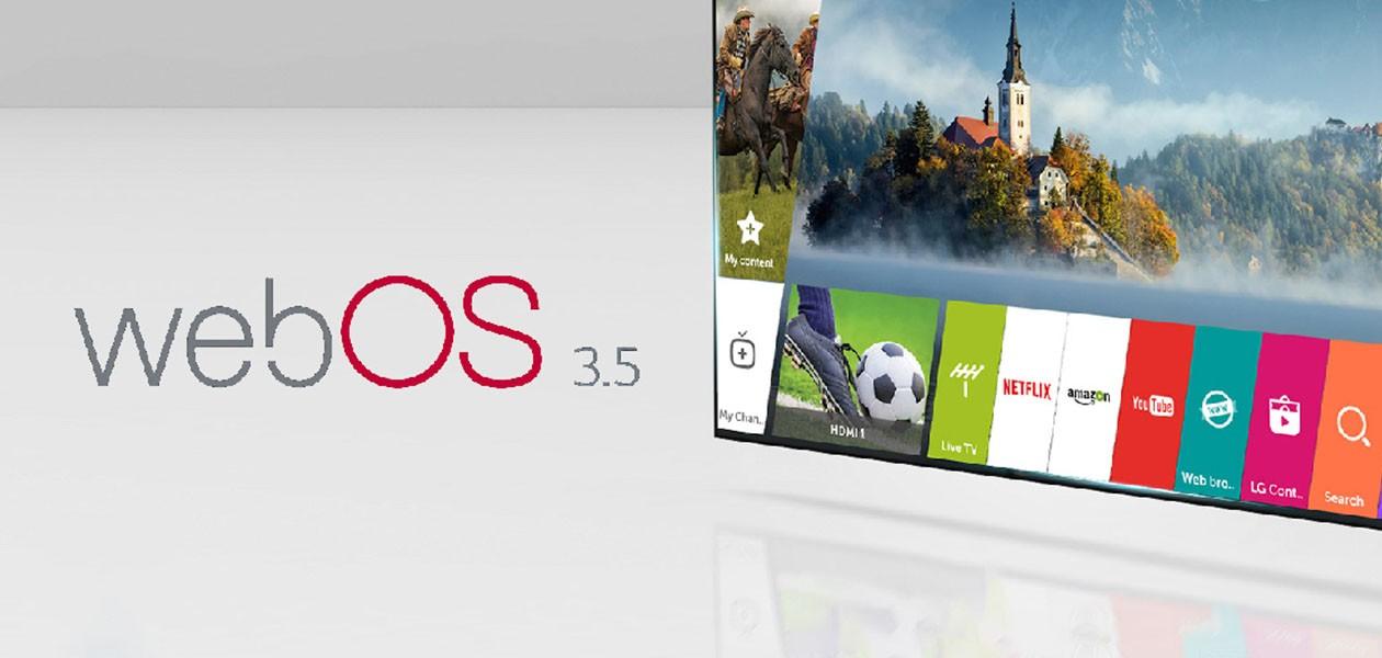webOS 3.5, helppo ja hauska käyttää