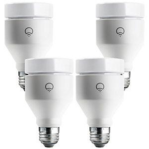 LIFX Wifi Smart RGB LED-lyspærer 4-pakning (E27)