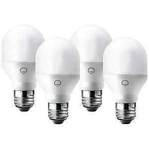 LIFX Mini Smart RGB LED-lyspærer 4-pakning (E27)