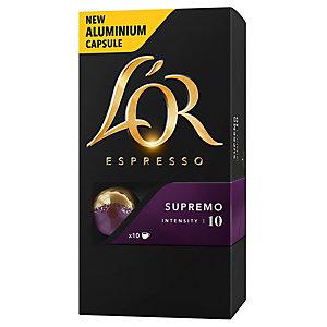 L'Or Espresso 10 Supremo kapsler 4018202
