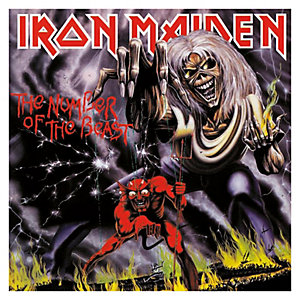 Iron Maiden – The Number Of The Beast (LP)