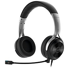 Lucid Sound LS20 gaming-headset - sort/sølv