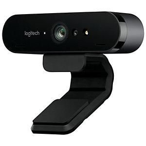 Logitech Brio 4K webbkamera (svart)