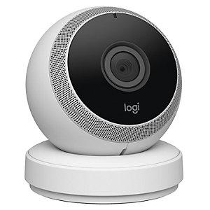 Logitech Circle övervakningskamera för hemmet (vit)