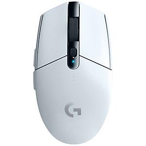 Logitech G305 trådlös gamingmus (vit)