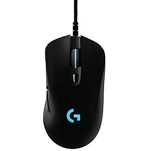 Logitech G403 Prodigy gaming-mus (sort)