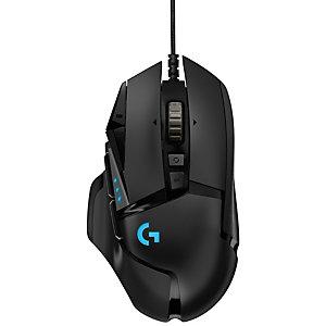 Logitech G502 Hero gamingmus (svart)