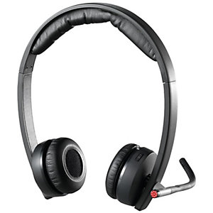 Logitech Dual H820e trådlöst headset