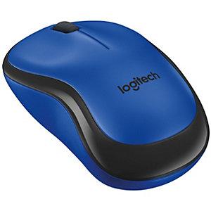 Logitech M220 Silent trådløs mus (blå)