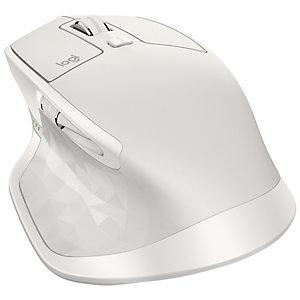 Logitech MX Master 2S trådløs mus (lys grå)