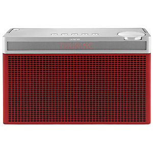 Geneva Touring/L DAB radio (röd)