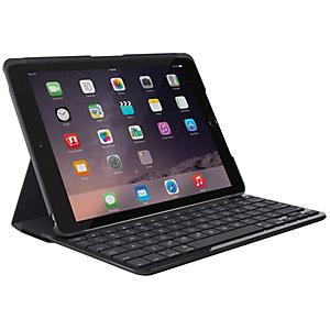 Logitech Slim Folio tangentbordsfodral för iPad (svart)