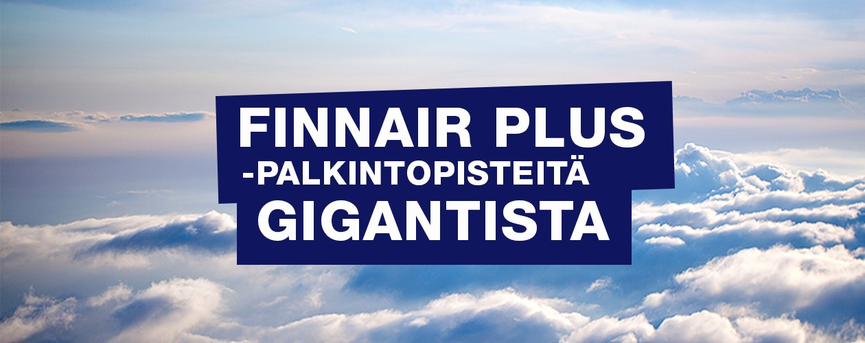 Finnair Plus -kampanja
