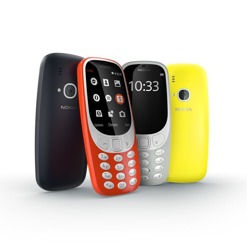 3310 er et ikonisk design med et moderne twist