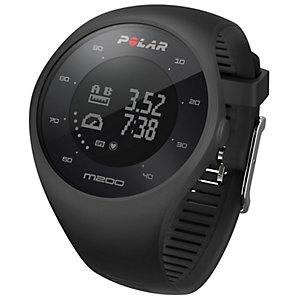Polar M200 GPS sportsklokke (sort)