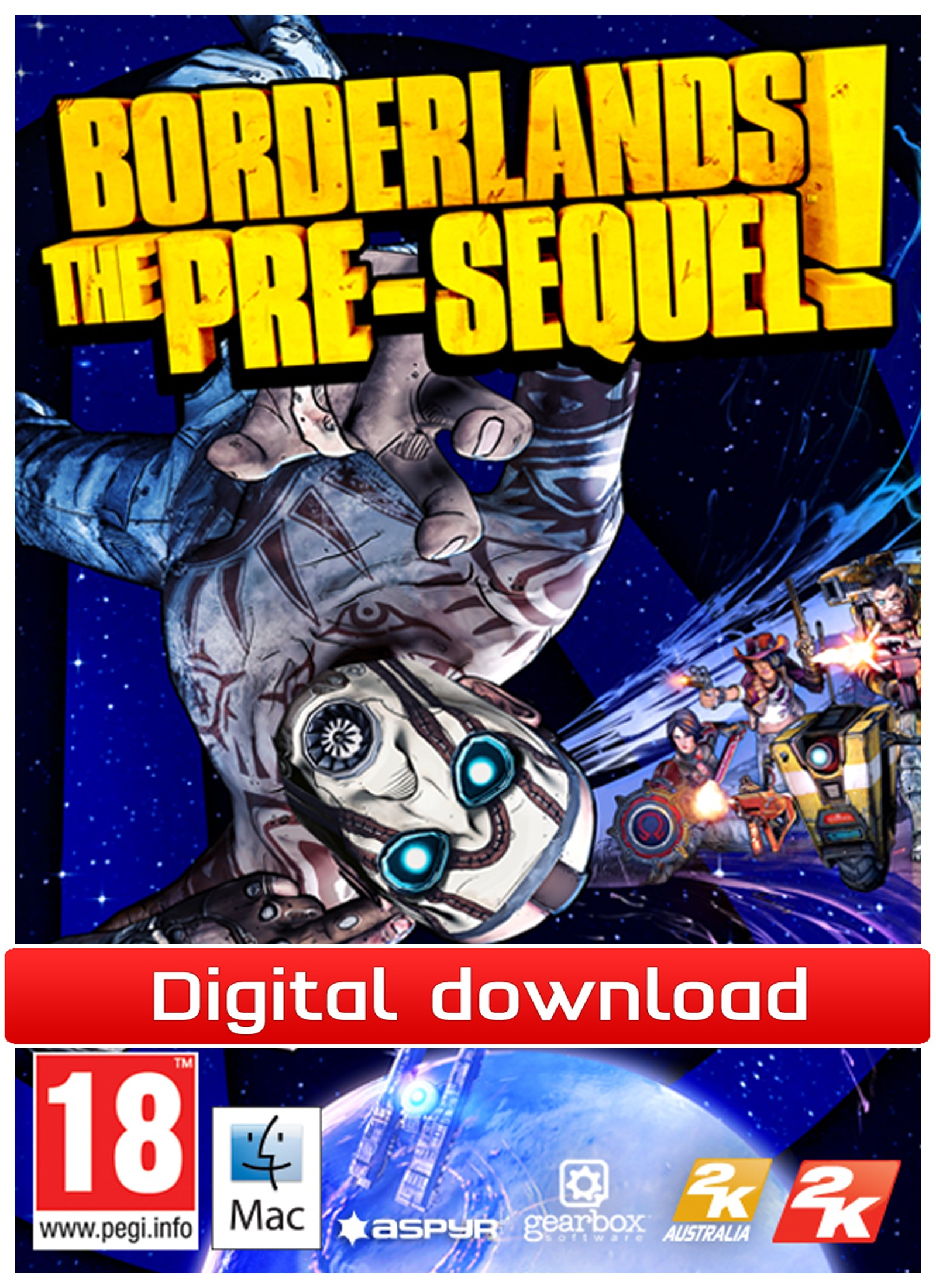 36359 : Borderlands: The Pre-Sequel (Mac nedlastning)