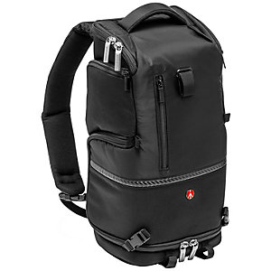 Manfrotto Advanced Tri liten ryggsekk (sort)