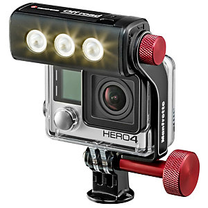 Manfrotto Off-Road ThrilLED-lys for GoPro