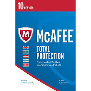 McAfee Total Protection 2017 (10 laitetta)