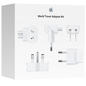 Apple world reseadapter (vit)