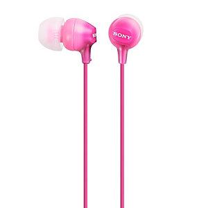 Sony in-ear kuulokkeet MDR-EX15APPI (pinkki)