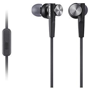 Sony in-ear hörlurar MDRXB50AP (svart)