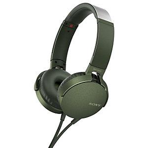 Sony on-ear kuulokkeet MDR-XB550 (vihreä)