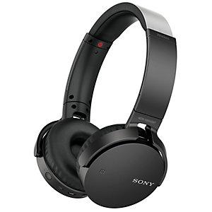 Sony MDR-XB650BT trådløse on-ear-hodetelefoner (sort)