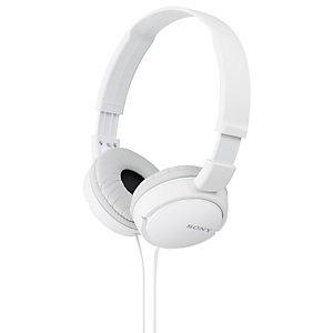 Sony MDR-ZX110AP on-ear kuulokkeet (valkoinen)