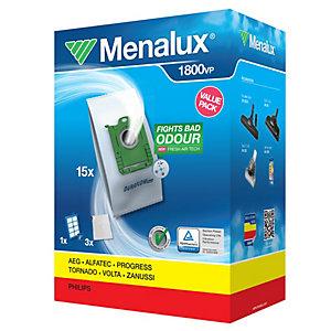 Menalux dammsugspåsar och filter 1800VP