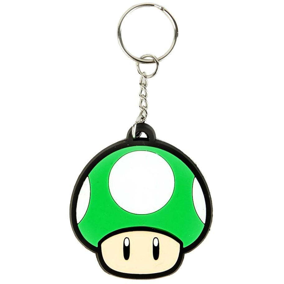 800333 : Nøkkelring Nintendo - One Up-sopp (gummi)