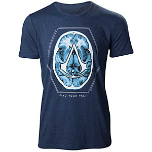 T-shirt Assassin's Creed - Find Your Past blå (XL)