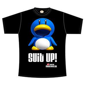 T-skjorte Nintendo - SMB Suit Up sort (XL)