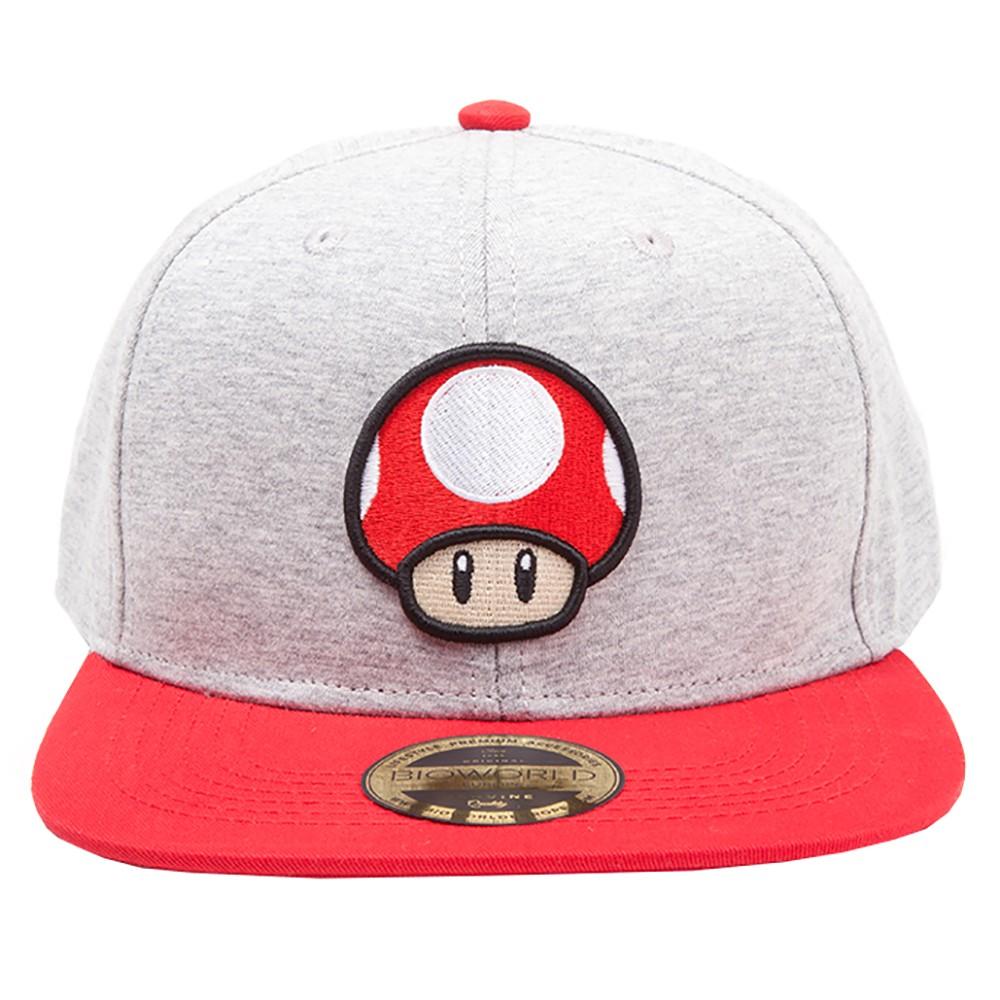 802073 : Nintendo sopp caps (grå)