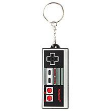 Nyckelkedja Nintendo - NES Controller gummi (svart 8fd2595e45a06