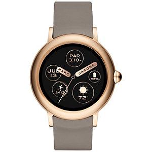 Marc Jacobs Riley Touchscreen smartwatch (rosé guld)