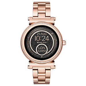 Michael Kors Access Sofie smartwatch (rosa guld)
