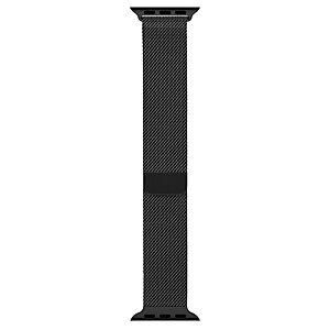 Apple 38 mm milanolaisranneke (musta)