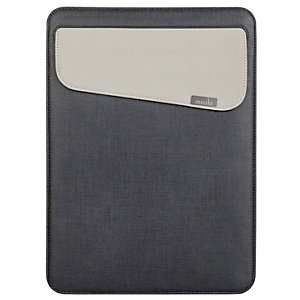 Moshi Muse MacBook 13 & iPad Pro 12.9 fodral (svart)