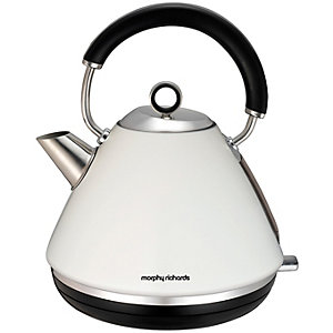 Morphy Richards Accents vannkoker 102005 EE (hvit)