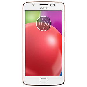 Motorola Moto E smartphone (guld)