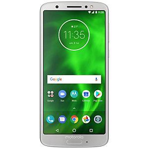 Motorola Moto G6 smartphone (silver)
