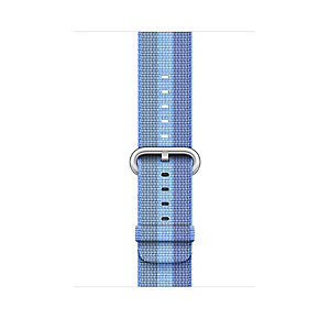 Apple 38 mm vevd nylonrem (tahoe blue stripe)