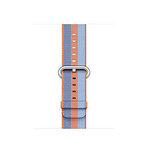 Apple 42 mm vevd nylonrem (orange stripe)